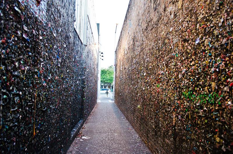 Bubblegum Alley in San Louis Obispo