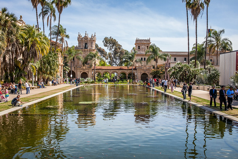 Balboa Park is San Diego is a National Historic Landmark