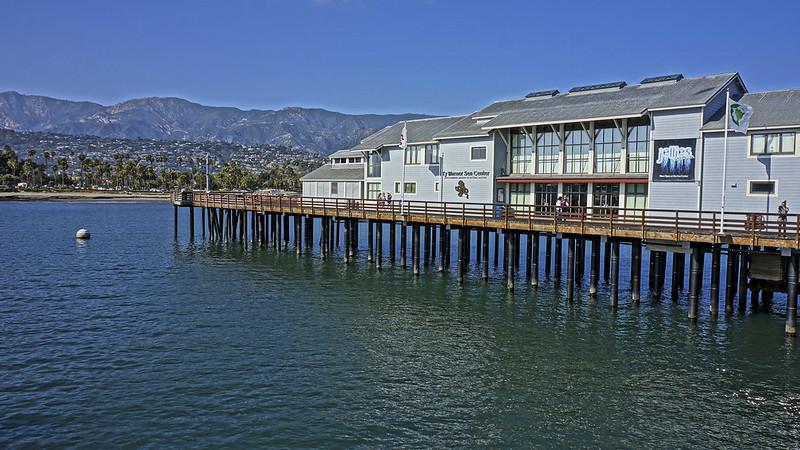 Stearns Wharf is a popular landmark in Santa Barbara