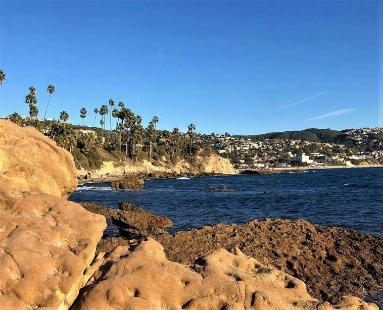 Laguna Beach is a favorite weekend destination in Orange County