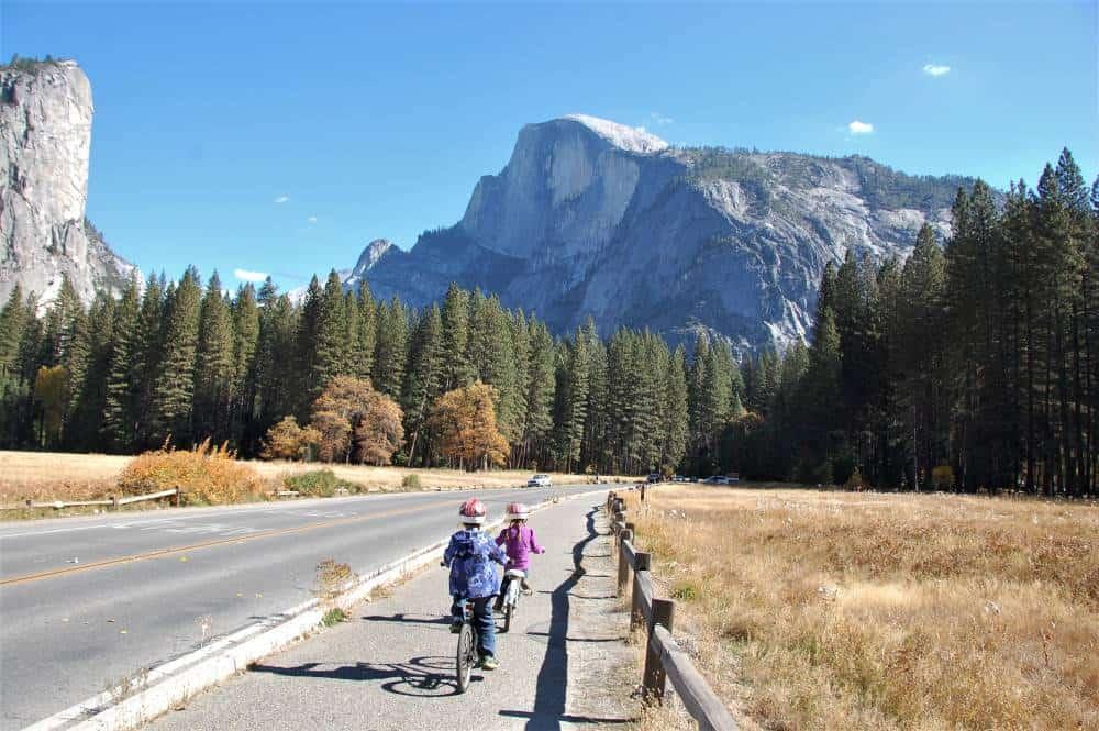 Biking the Yosemite Valley