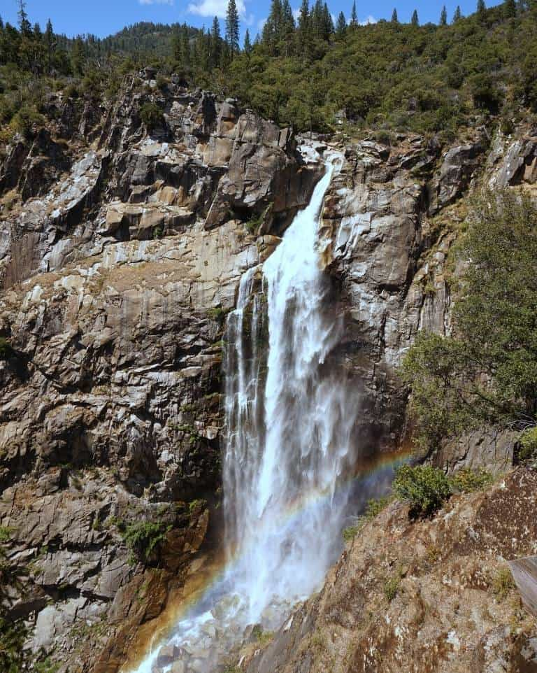 Feather Falls in Northern California near Lake Oroville