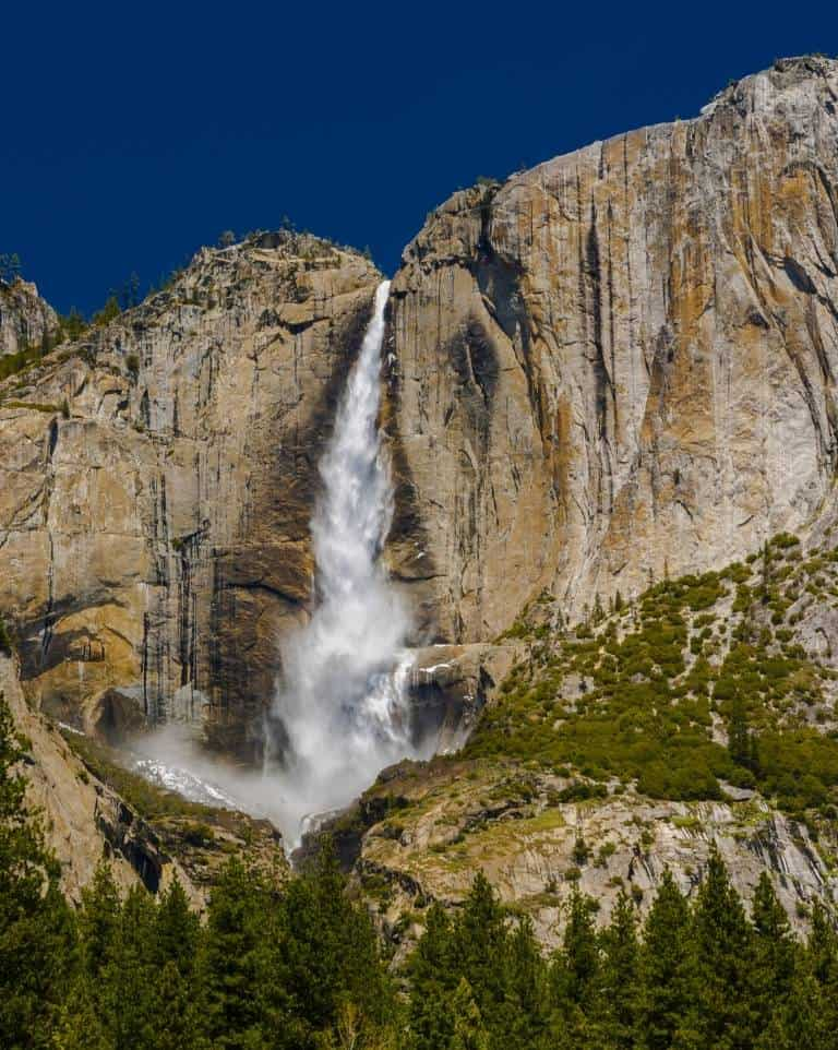 Yosemite Falls is the tallest waterfall in North Ameria