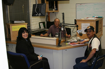 "Chairperson Burley Interviewed on KKUP 91.5 FM ""Indian Time"" Program"
