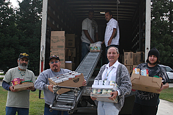 The California Valley Miwok Tribe Concludes Another Food Distribution