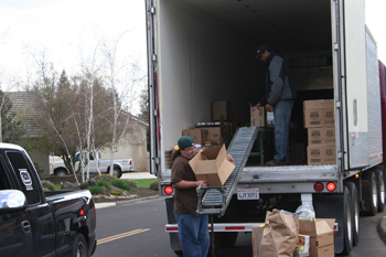 California Valley Miwok Tribe Hosts March 2010 USDA Food Distribution