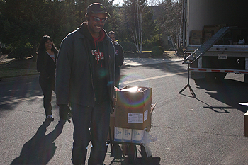 CVMT Celebrates First Food Distribution of 2012