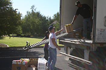 July 2012 USDA Food Distribution at CVMT
