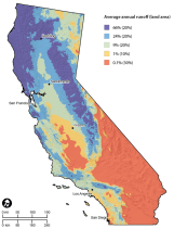 Precipitation in California