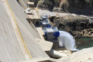 A $10.6 million modernization of Morris Dam in Los Angeles County allowed 1,500 additional acre-feet of water to be delivered annually down the San Gabriel River, to replenish aquifers. The project was paid for in part with funds from Proposition 50 (2002), which the sale of $3.4 billion in general obligation bonds  for a variety of projects. Photo by Chris Austin