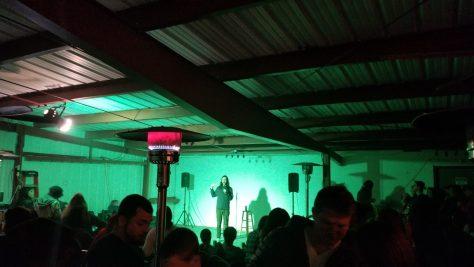 cannabis comedy night at Ukiah Sundialed cannabis lounge