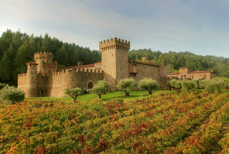 Castello Di Amorosa Tour