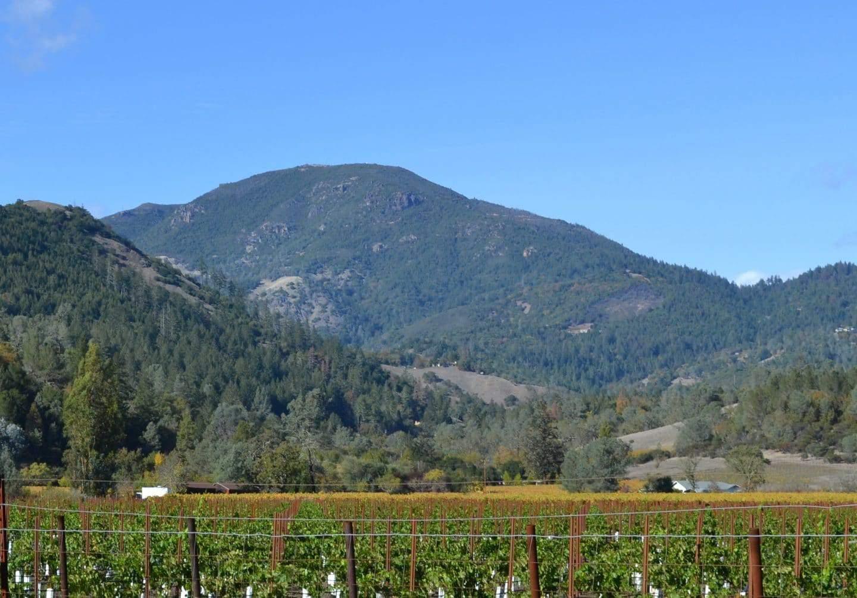mount st helena napa valley california