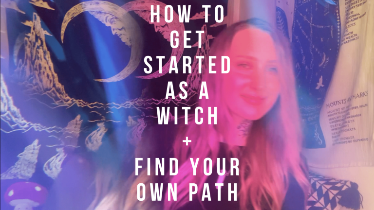 how to get started as a witch