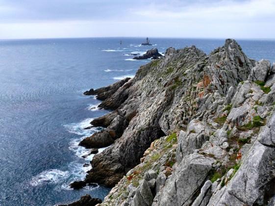 La Pointe du Raz, en Bretagne.