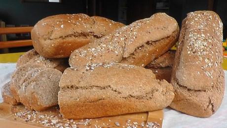 Le pain complet.