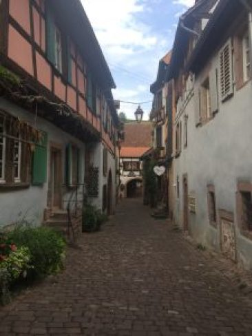 Riquewihr, village alsacien.