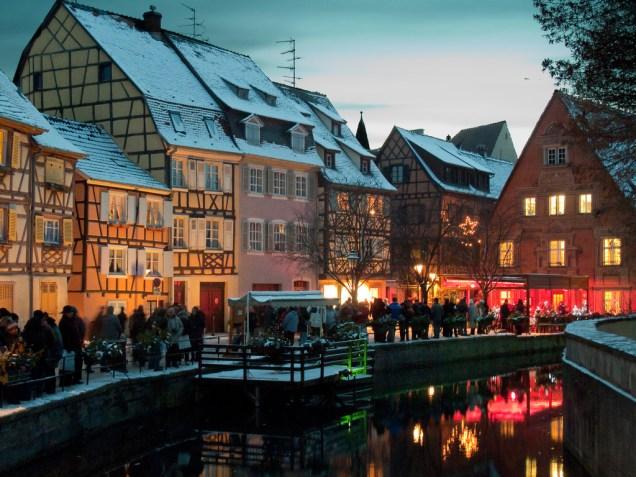 Noël à Colmar.