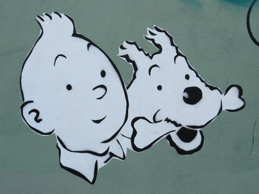 Tintin_and_Snowy_grafitti