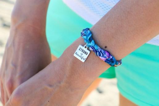 Shannon Michelle CaliGirlGetsFit Strong is Beautiful Bracelets-9229