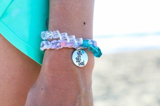 Shannon Michelle CaliGirlGetsFit You Got This Bracelets-9186