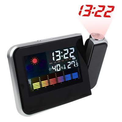 statie meteo cu proiectie pentru ceas