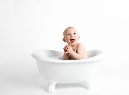 bébé bain