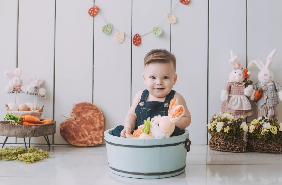 chambre bébé guirlande
