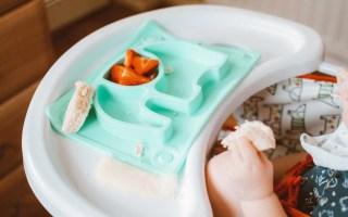 assiette silicone anti-dérapante bébé