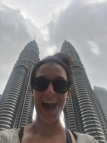 Selfie at the Petronas Towers