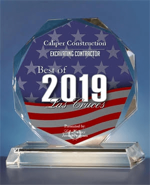 Caliper Construction Receives 2019 Best of Las Cruces Award