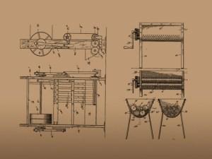 Joseph Lee's Bread Kneading machine Source:blackinhistory.tumblr.com