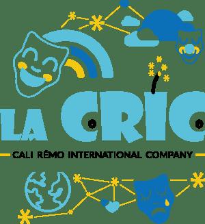 Logo de la CRIC, entouré de pictos illustrant son univers d'imagination et de féérie.
