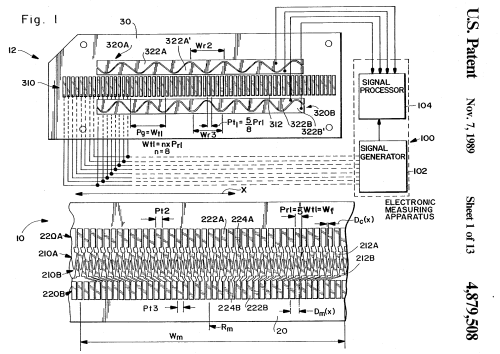 small resolution of capacitive calipers