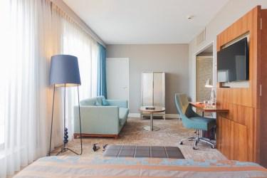 holiday inn, nice, france junior suite sofa