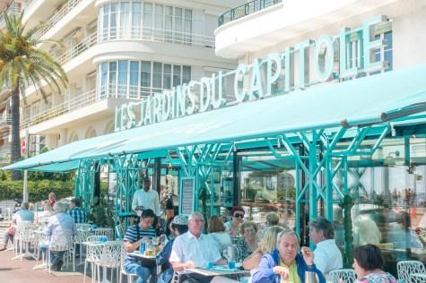 Restaurant on Promenade des Anglais