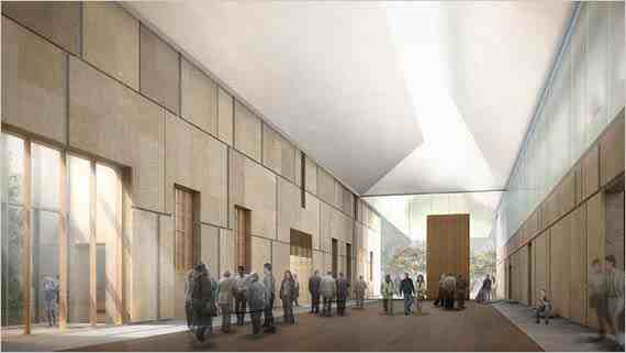 Light Court, new Barnes Foundation, Philadelphia