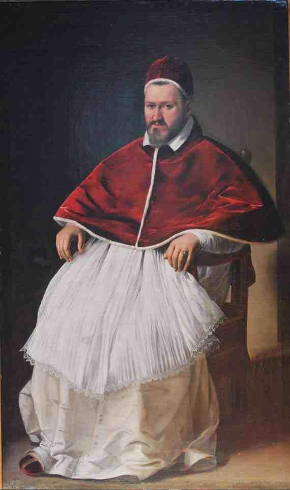 Caravaggio's portrait of Paul V