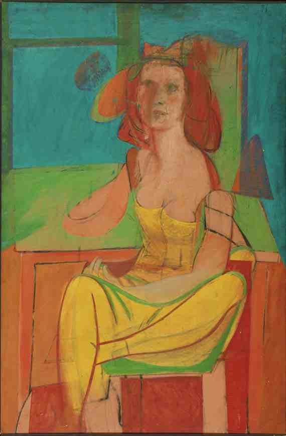 de Kooning: Seated Woman