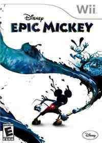 Disney's Epic Mickey box art