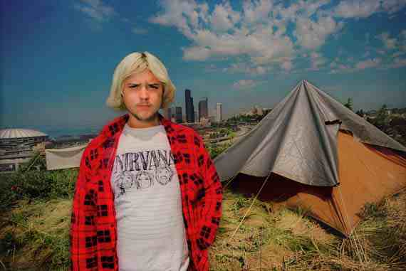 Tent City, Seattle, WA, April 1999, Alice Wheeler