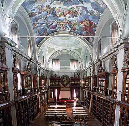 Interior: Sant'Ivo alla Sapienza, Rome