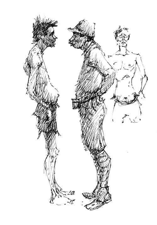 Ben Steele Bataan illustration