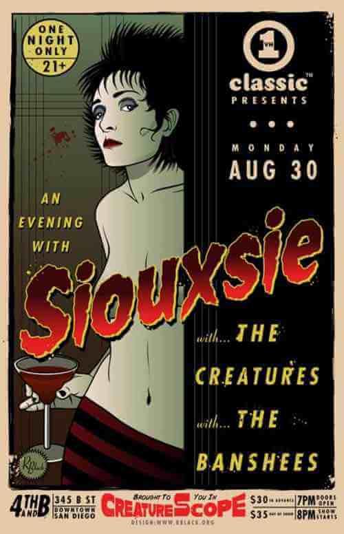 Rich Black: Siouxsie