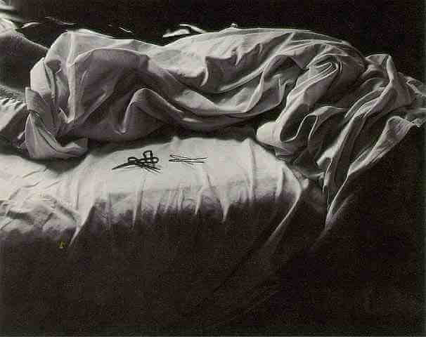 Unmade Bed by Imogen Cunningham