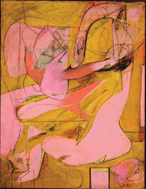 de Kooning: Pink Angels