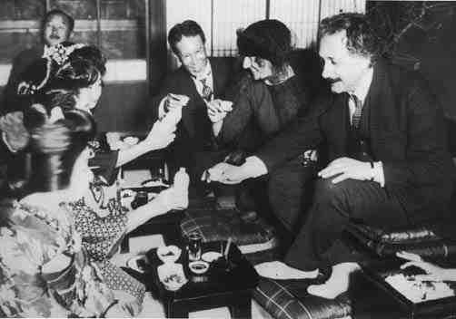 Einstein in Japan 1