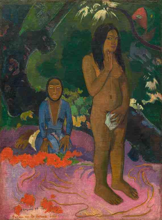 Paul Gauguin: Parau na te Varua ino
