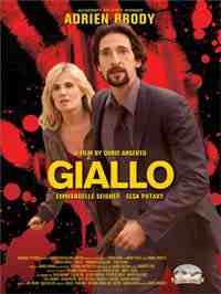 Giallo movie poster