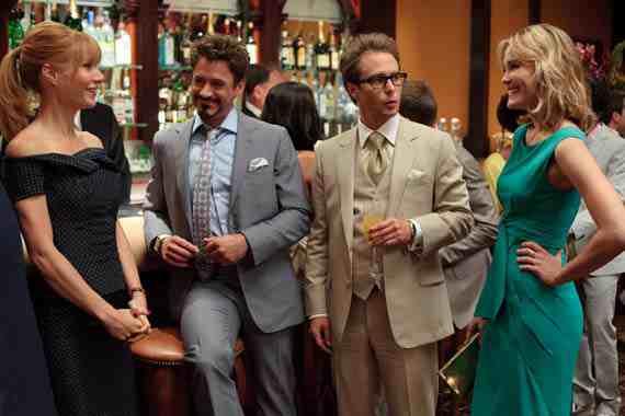 Movie Still: Iron Man 2 cast